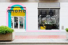 Вдохновленный стиль магазина Gnomo от студии Masquespacio