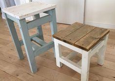 ガーデンファニチャーDIY②♪2×2材(ツーバイツー)1×4(ワンバイフォー)で自作のお庭の椅子、スツールの作り方。   雪見日和