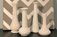 Goodwill Milk Glass Vases