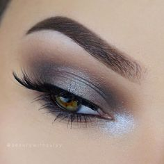 gorgeous eye makeup with inner corner shimmer ~ we ❤ this! moncheribridals.com