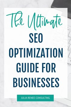 If you're tired of spending hours on Instagram trying to beat the algorithm so ANYONE will see your content and book your services, this SEO ebook is for you! This SEO guide will help creative business owners like you easily optimize your site for SEO — without wasting time on strategies that don't work or don't matter! After reading this SEO ebook and optimizing your site, you'll know how to increase your Google rankings and reach your dream clients so you can get empty bookings filled! Creative Business, Business Tips, Online Business, Business Coaching, Seo Guide, Seo Tips, Seo For Beginners, Seo Consultant, Starting A Business