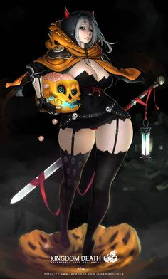 Exclusive to All Hallows Eve, this special edition of the Pinup Twilight Knight is dressed for the holiday. It includes a unique decorative base insert and a new appearance that's anything but frightful. Available Halloween weekend only. Happy Halloween 萬聖節快樂 devil emoticon devil emoticon devil emoticon Shop: http://shop.kingdomdeath.com/products/halloween-special-pinup-twilight-knight Lokman Lam Kingdom Death https://www.facebook.com/Lokmanlamcg