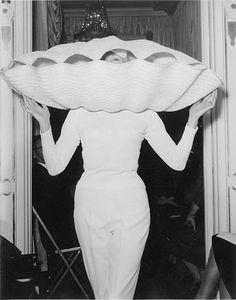 bill cunningham: The Clamshell hat.