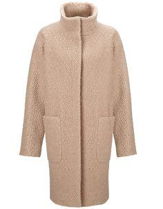 Alexis Boucle Coat | Camel | Monsoon