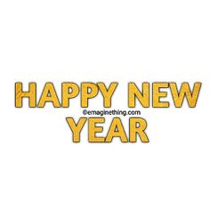 New Year Anime, Happy New Year Png, New Year Words, New Year Clipart, Picsart Png, Word Art, Clip Art, Png Format, Stickers