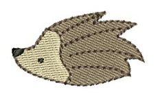 Mini Hedgehog   Mini Designs   Machine Embroidery Designs   SWAKembroidery.com Bunnycup Embroidery