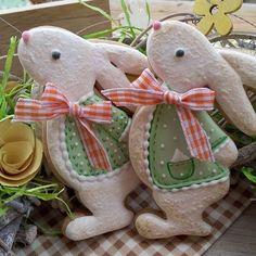 Пасхальный кролик —любимый символ Пасхи! #медовыепряники #пасхальныеидеи