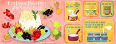 Elder Flower Panna Cotta with Summer Berries (Liv Wan)