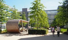 OTTO factory premises | Hamburg Architecture Awards, Landscape Architecture, Bad Lippspringe, Project Presentation, Hedges, Shrubs, Street View, Building, Places