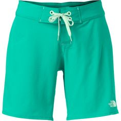 The beautiful thing about The North Face Women's Pacific Creek Long Board Shorts is that you can pull it over your bikini bottom and not worry about losing your bottoms while you surf. Rugged 75D poly-elastane fabric can handle be thrashed by the waves while the hex dobby weave backer reduces the chances of cheek and thigh chafing when the waves win. The 7-inch inseam covers some skin but doesn't get in the way of your on-water acrobatics.