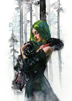 "Art of Tanya Shatseva  ""Black Swan Feelings"""