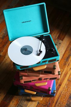 Crosley X UO Cruiser Briefcase Portable Vinyl Record Player. I've got the peachy one. they're great.