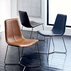 West Elm offers modern furniture and home decor featuring inspiring designs and colors. Create a stylish space with home accessories from West Elm. Leather Dining Room Chairs, Modern Dining Chairs, Kitchen Chairs, Upholstered Dining Chairs, Dinning Chairs, West Elm Dining Chairs, Wingback Chairs, Dining Tables, Kitchen Dining