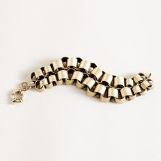 Paper Chain Bracelet by J. Crew: Also available in black. $78.