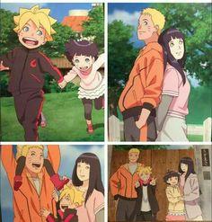 My Uzumaki family edit Naruhina, Anime Naruto, Himawari Boruto, Naruto Cute, Naruto Shippuden Sasuke, Naruto And Sasuke, Hinata Hyuga, Sakura And Sasuke, Anime Manga