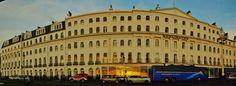 BURLINGTON HOTEL AT SUN UP