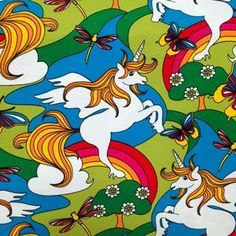 Image of Unicorn organic cotton jersey (by the half metre) @ Kitschy Coo shop Unicorn Images, Butterflies Flying, Fabulous Fabrics, Diy Dress, Baby Sewing, Fabric Patterns, Printing On Fabric, Organic Cotton, Kids Outfits
