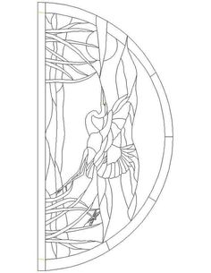 Image result for stained glass pattern HERON