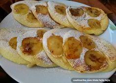 Jogurtové lívance s banánem