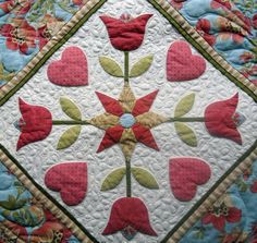The Crafty Quilter | Applique Part 2 – Machine Applique with Fusibles | http://thecraftyquilter.com
