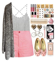 """""""Off-Duty ♡♡"""" by preciouspearll ❤ liked on Polyvore featuring Kain, George J. Love, Serge Lutens, Casetify, casual, Pink, pastel and offduty"""