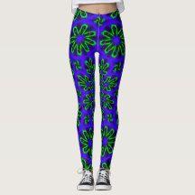 Elegant Leggings with Blue Green design Blue Green, Leggings, Abstract, Elegant, How To Make, Pants, Shopping, Design, Fashion