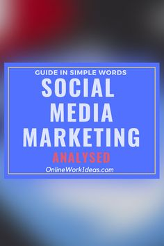 Social media marketing (SMM) is part of internet marketing. It aims to promote products and services online through social media networks. Read on to.....Read complete guide by clicking image! #smm #socialmediamarketing #digitalmarketing #internetmarketing #socialmedia #traffic #websitetraffic Internet Marketing, Social Media Marketing, Digital Marketing, What Is Social, Simple Words, Self Publishing, Business Website, Online Work, Seo