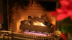 download free fireplace background