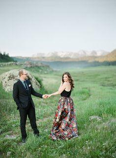 Stylish Mountain Engagement   COUTUREcolorado WEDDING: colorado wedding blog + resource guide