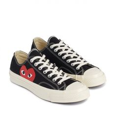 huge selection of 47075 41c71 CONVERSE Comme des Garcons niskie czarne r. 38 Svart, Män, Skor