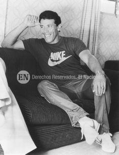 Luis Salazar. Pelotero venezolano. Caracas, 06-10-1981 (ARCHIVO EL NACIONAL)