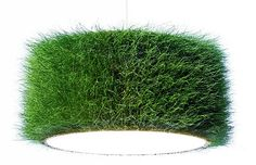 Grassland is a company that brings grass into our homes. I think my office would look fabulous with this grass lamp shade. And who wouldn't love a field of grass on their dining ro… Lamp Design, Lighting Design, Shade Grass, Diy Lampe, Deco Luminaire, Astro Turf, Garden Theme, Indian Home Decor, Lampshades