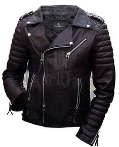 Men's Leather Jacket | Black Jack Leathers – Men's & Women's Clothing Store | Black Jack Leathers Best Leather Jackets, Men's Leather Jacket, Biker Leather, Leather Men, Womens Clothing Stores, Women's Clothing, Clothes For Women, Biker Jackets, Jack Black
