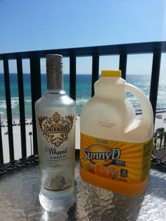 Whipped Cream Vodka Sunny D Heaven On The Beach