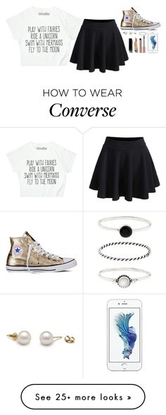 """Want to red a unicorn badly!!"" by emilylotito on Polyvore featuring WithChic, Converse, Accessorize and Chanel"