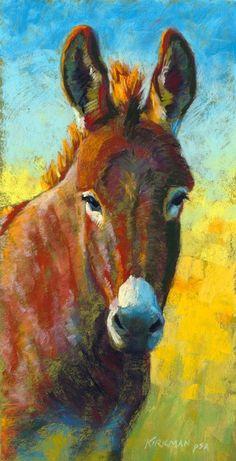 "Daily Paintworks - ""Don Keanu"" - Original Fine Art for Sale - © Rita Kirkman Cow Art, Horse Art, Animal Paintings, Animal Drawings, Pastel Art, Western Art, Painting Inspiration, Painting & Drawing, Illustrations"