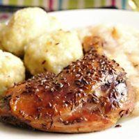 Pomalu pečené kachní čtvrtky Food Styling, Food And Drink, Cooking Recipes, Foods, Chicken, Meat, Food Food, Food Items