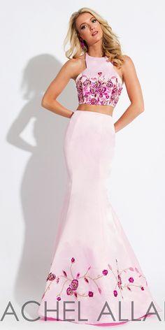2474b773c5a Pretty High Neck Two Piece Dress 7610