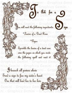 Printable Book Of Shadows Pages - Bing Images