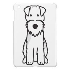 Welsh Terrier Dog Cartoon Cover For The iPad Mini