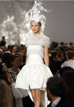 Chanel this is what I want to wear when I renew my vows!