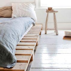Łóżko z palet