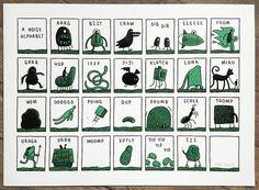 A Noisy Alphabet