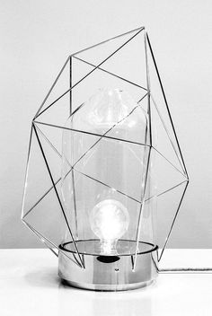 J'ai rêve. / Reverie Lamp by designer Sergio Guijarro. @Kikekeller gallery, — Designspiration
