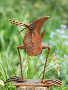 scrap metal animals Archive – Chris Kircher Metal Art Sculpture, Contemporary Sculpture, Art Sculptures, Abstract Sculpture, Bronze Sculpture, Recycled Yard Art, Trash Art, Metal Art Projects, Metal Garden Art