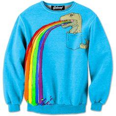 My bestfriend is kooler then yours :p #edm #rave #trex  http://iedm.com/ T-Rex Pocket Pal Sweatshirt