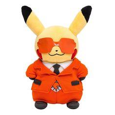 Pokemon Center Original Stuffed Doll Members Pretend Pikachu Flare Orchestra #PokemonCenter