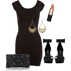 """Rachel's Club Outfit"" by m-brandlabarge on Polyvore"
