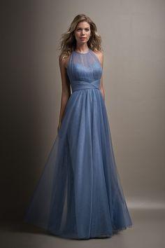 deb23531dc Belsoie L194011 Tulle Bridesmaid Dress
