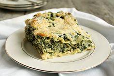 Light Spinach Lasagna with Creamy Cauliflower Sauce | Tasty Kitchen: A Happy Recipe Community!